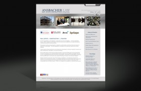 Ansbacher Law web re-design