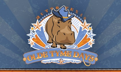 Hutto Texas Olde Tyme Days Logo