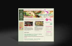 Garden Spot Cafe website