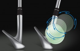 Golf wedge illustration